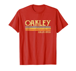 Funny shirts V-neck Tank top Hoodie sweatshirt usa uk au ca gifts for Vintage Oakley California CA T-shirt Gift Souvenir 1539070