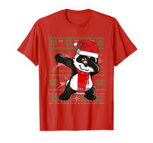 Laden Sie das Bild in den Galerie-Viewer, Funny shirts V-neck Tank top Hoodie sweatshirt usa uk au ca gifts for Ugly X-mas Sweater Dabbing Panda Christmas Costume Kids Gift T-Shirt 452576