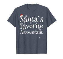 Laden Sie das Bild in den Galerie-Viewer, Santa's favorite Accountant T-Shirt