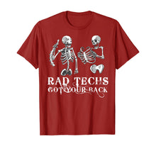 Laden Sie das Bild in den Galerie-Viewer, Rad Techs Got Your Back, Radiology X-Ray Tech TShirt