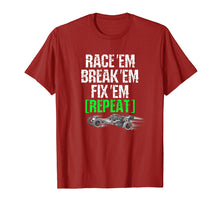 Laden Sie das Bild in den Galerie-Viewer, RC Car Shirt Race Em Break Em Fix Em Repeat