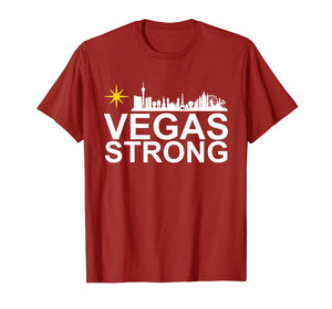 Vegas Strong Tshirt for Men, Women and Youth T-Shirt