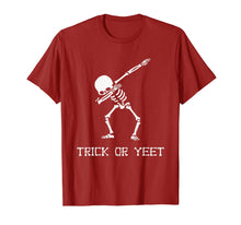 Laden Sie das Bild in den Galerie-Viewer, Trick or YEET Dabbing Skeleton Funny Halloween Kids + Adult T-Shirt