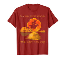 Laden Sie das Bild in den Galerie-Viewer, On A Dark Desert Highway Witch Feel Cool Wind In My Hair Tee T-Shirt