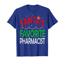Laden Sie das Bild in den Galerie-Viewer, Santa's Favorite Pharmacist Funny Christmas Xmas Santa Hat T-Shirt