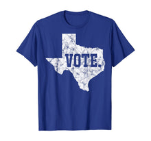 Laden Sie das Bild in den Galerie-Viewer, 595405 Texas Vote Voting Equality Voter Rights Gift T-Shirt B08HZW3DMZ