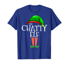 Laden Sie das Bild in den Galerie-Viewer, The Chatty Elf Group Matching Family Christmas Gift Funny T-Shirt