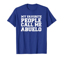 Laden Sie das Bild in den Galerie-Viewer, Spanish Father's Day T-shirt gifts for papi and abuelo