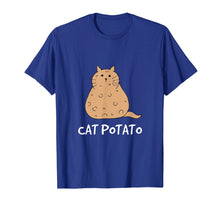 Laden Sie das Bild in den Galerie-Viewer, Funny shirts V-neck Tank top Hoodie sweatshirt usa uk au ca gifts for Cat Potato - Funny Chubby Cat Mixed Potato T-Shirt 1669050