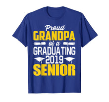 Laden Sie das Bild in den Galerie-Viewer, Funny shirts V-neck Tank top Hoodie sweatshirt usa uk au ca gifts for Proud Grandpa of 2019 Senior Graduation Shirt 1468583