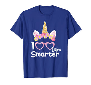 Funny shirts V-neck Tank top Hoodie sweatshirt usa uk au ca gifts for 100 Days of School Shirt Unicorn Girls Costume Gift Tee 1696260