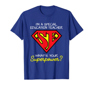 Superhero Special Education Teacher Shirt