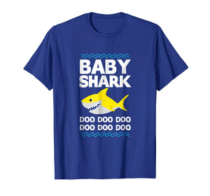Funny shirts V-neck Tank top Hoodie sweatshirt usa uk au ca gifts for Baby Shark Doo Doo T-Shirt Mommy Daddy Brother Kid Tee 1260766