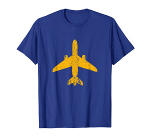 Funny shirts V-neck Tank top Hoodie sweatshirt usa uk au ca gifts for Distressed Yellow Jet Airplane Aviation Pilot Gifts Flying T-Shirt 2414578