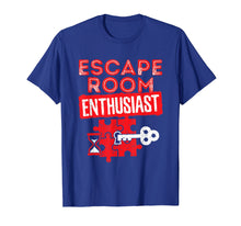 Laden Sie das Bild in den Galerie-Viewer, Funny shirts V-neck Tank top Hoodie sweatshirt usa uk au ca gifts for Escape Room T Shirt - Escape Room Enthusiast 2761501