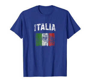 Funny shirts V-neck Tank top Hoodie sweatshirt usa uk au ca gifts for Italia T Shirt - Vintage Distressed Italian Flag 1135217