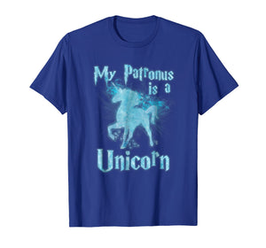 Funny shirts V-neck Tank top Hoodie sweatshirt usa uk au ca gifts for My Patronus Is a Unicorn OFFICIAL T-Shirt New 2018 1682603