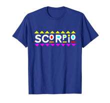 Laden Sie das Bild in den Galerie-Viewer, Scorpio Zodiac Shirt 90s Style