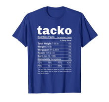 Laden Sie das Bild in den Galerie-Viewer, Tacko Nutrition Facts Label Funny Boston Basketball T-Shirt