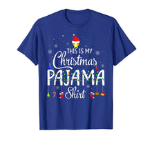 Laden Sie das Bild in den Galerie-Viewer, This is My Christmas Pajama Shirt - Funny Xmas Light Tree T-Shirt