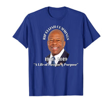 Laden Sie das Bild in den Galerie-Viewer, Representative Elijah Cummings RIP (Memorial Design) T-Shirt