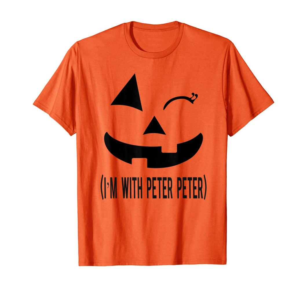 Peter Peter Pumpkin Eater Halloween Couples Costume T-shirt