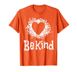 Orange Unity Day Be Kind anti bullying kindness apparel gift T-Shirt