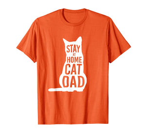 Stay at Home Cat Dad Shirt for Cat Dads