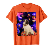 Laden Sie das Bild in den Galerie-Viewer, Funny shirts V-neck Tank top Hoodie sweatshirt usa uk au ca gifts for Adorable Pug in Outer Space with Doughnuts Men Girl T-Shirt 2755445