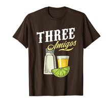 Laden Sie das Bild in den Galerie-Viewer, Funny shirts V-neck Tank top Hoodie sweatshirt usa uk au ca gifts for Three Amigos T Shirt Salt Lime Tequila Cinco De Mayo Party 2085788
