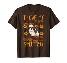 Laden Sie das Bild in den Galerie-Viewer, Funny shirts V-neck Tank top Hoodie sweatshirt usa uk au ca gifts for I Love My Shitzu T shirt Gift For Dog Lover Shirt 1552155