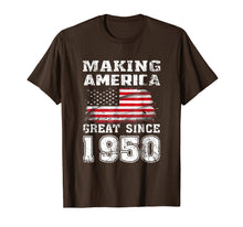 Laden Sie das Bild in den Galerie-Viewer, Funny shirts V-neck Tank top Hoodie sweatshirt usa uk au ca gifts for Making America Great Since 1950 69th Birthday Gifts T-Shirt 1393878