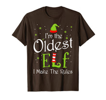 Laden Sie das Bild in den Galerie-Viewer, Funny shirts V-neck Tank top Hoodie sweatshirt usa uk au ca gifts for I'm The Oldest Elf Christmas Gift Idea Xmas Family T-Shirt 511352