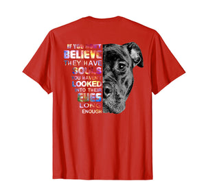 Funny shirts V-neck Tank top Hoodie sweatshirt usa uk au ca gifts for I Love My Pitbull Woman Love Her Pitbull Gift Shirt 1358666
