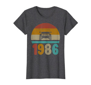 Funny shirts V-neck Tank top Hoodie sweatshirt usa uk au ca gifts for Vintage Jeeps Shirt Vintage 1986 Classic T-Shirt 1469299