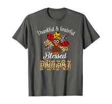 Laden Sie das Bild in den Galerie-Viewer, Thankful Grateful Blessed Mimi Turkey Thanksgiving T-Shirt