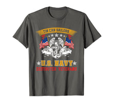 Laden Sie das Bild in den Galerie-Viewer, Tin Can Sailors U.S Navy Destroyer Veterans T-Shirt