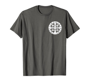 St. Benedict Medal T-Shirt Catholic Saint Cross Prayer Tee
