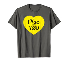 Laden Sie das Bild in den Galerie-Viewer, Funny shirts V-neck Tank top Hoodie sweatshirt usa uk au ca gifts for I'll Go With You TOP Yellow Heart Love T-Shirt 2575964