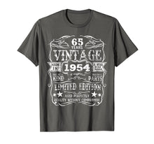 Laden Sie das Bild in den Galerie-Viewer, Funny shirts V-neck Tank top Hoodie sweatshirt usa uk au ca gifts for Made In 1954 65 Years Old Vintage 65th Birthday Gift T-Shirt 1149197