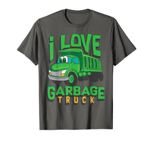 Funny shirts V-neck Tank top Hoodie sweatshirt usa uk au ca gifts for I Love Garbage Truck Shirt | Cool Little Junk Lover Tee Gift 2838165