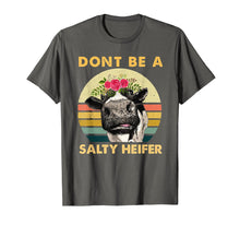 Laden Sie das Bild in den Galerie-Viewer, Funny shirts V-neck Tank top Hoodie sweatshirt usa uk au ca gifts for Dont Be A Salty Heifer Shirt Funny Farmer Cow Lover TShirt 2216057