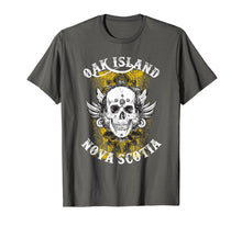 Laden Sie das Bild in den Galerie-Viewer, Funny shirts V-neck Tank top Hoodie sweatshirt usa uk au ca gifts for Oak Island T Shirt - Grinning Skull 2086307