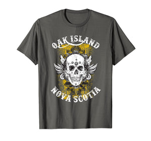 Funny shirts V-neck Tank top Hoodie sweatshirt usa uk au ca gifts for Oak Island T Shirt - Grinning Skull 2086307