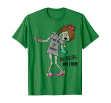 Laden Sie das Bild in den Galerie-Viewer, Sksksk And I Ooze Funny Zombie Halloween School T-Shirt