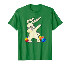 Funny shirts V-neck Tank top Hoodie sweatshirt usa uk au ca gifts for Dabbing Easter Bunny T-Shirt Bunny Happy Easter Shirt 2907340
