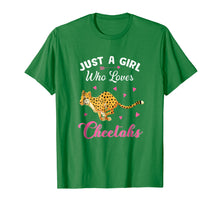 Laden Sie das Bild in den Galerie-Viewer, Funny shirts V-neck Tank top Hoodie sweatshirt usa uk au ca gifts for Just A Girl Who Loves Cheetahs T Shirt 1101593