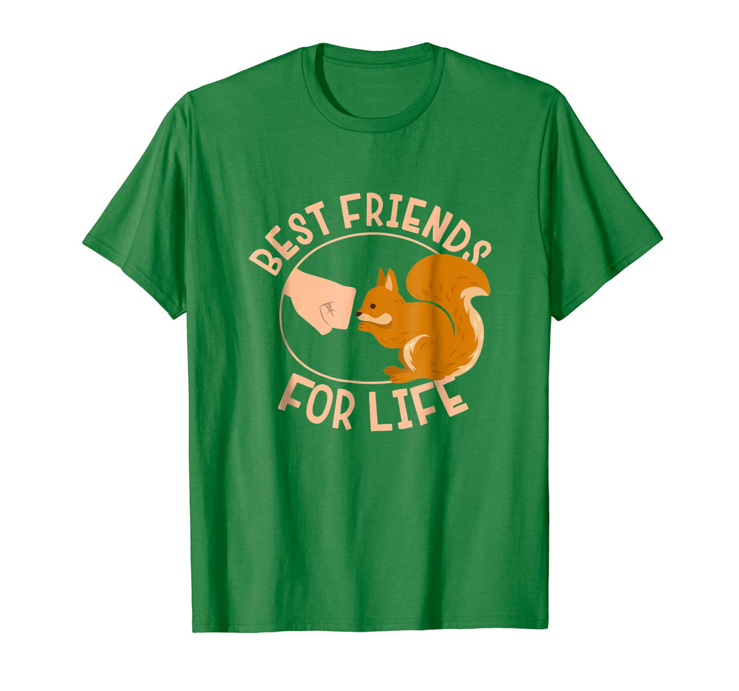 Squirrel Best Friend For Life T-Shirt Gift