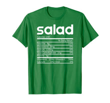 Laden Sie das Bild in den Galerie-Viewer, Salad Nutrition Facts Funny Thanksgiving Christmas Costume T-Shirt