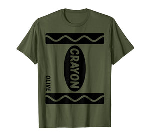 Olive Crayon Box Halloween Costume Couple Group  T-Shirt